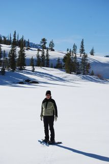 Sierra Canyon snowshoeing Donner Pass 1-12-2009 013