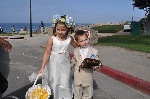 Aidan and Juliana before the wedding
